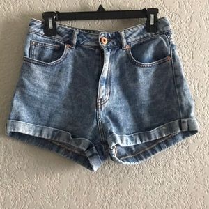 Bullhead denim mom shorts